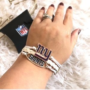 Ashley Bridget NFL New York Giants Layer Bracelet